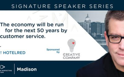 """""""The Economy of the Next Fifty Years Will Be Run By Customer Service."""" – Signature Speaker Series"""