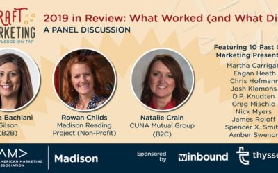 Top Marketers Gave Lightning Review of 2019 and Advice for 2020