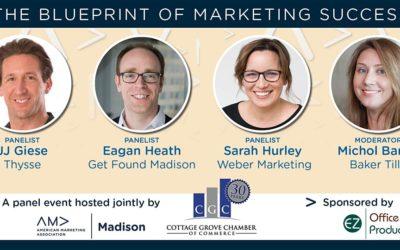 """The Blueprint of Marketing Success"" Power Panel"