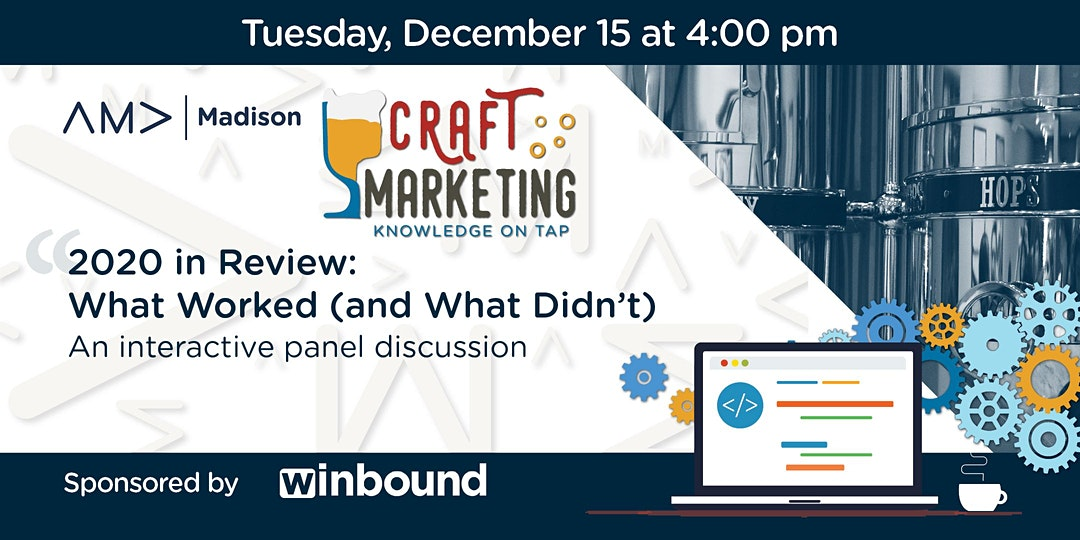 December Craft Marketing Event
